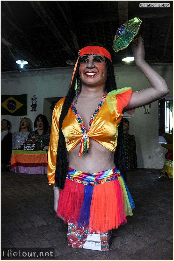 Fabio's LifeTour - Brazil (2015 April-June and October) - Olinda - Giants Carnival Dolls of Olinda - 7910