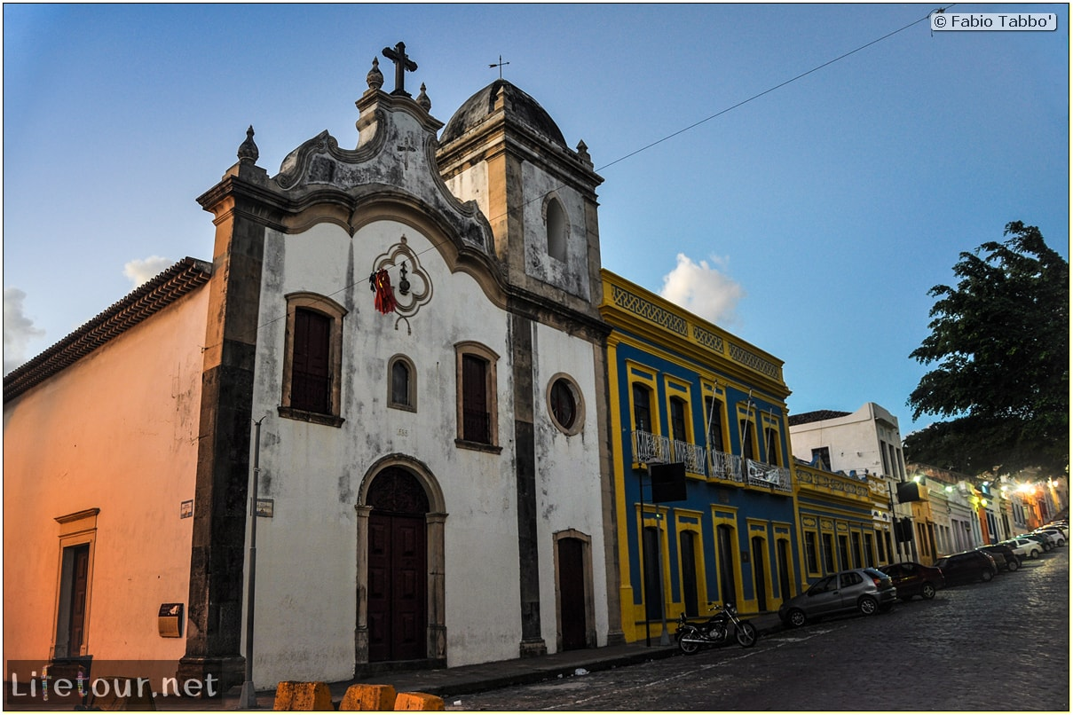 Fabio's LifeTour - Brazil (2015 April-June and October) - Olinda - Mosteiro de S¦o Bento - 8798