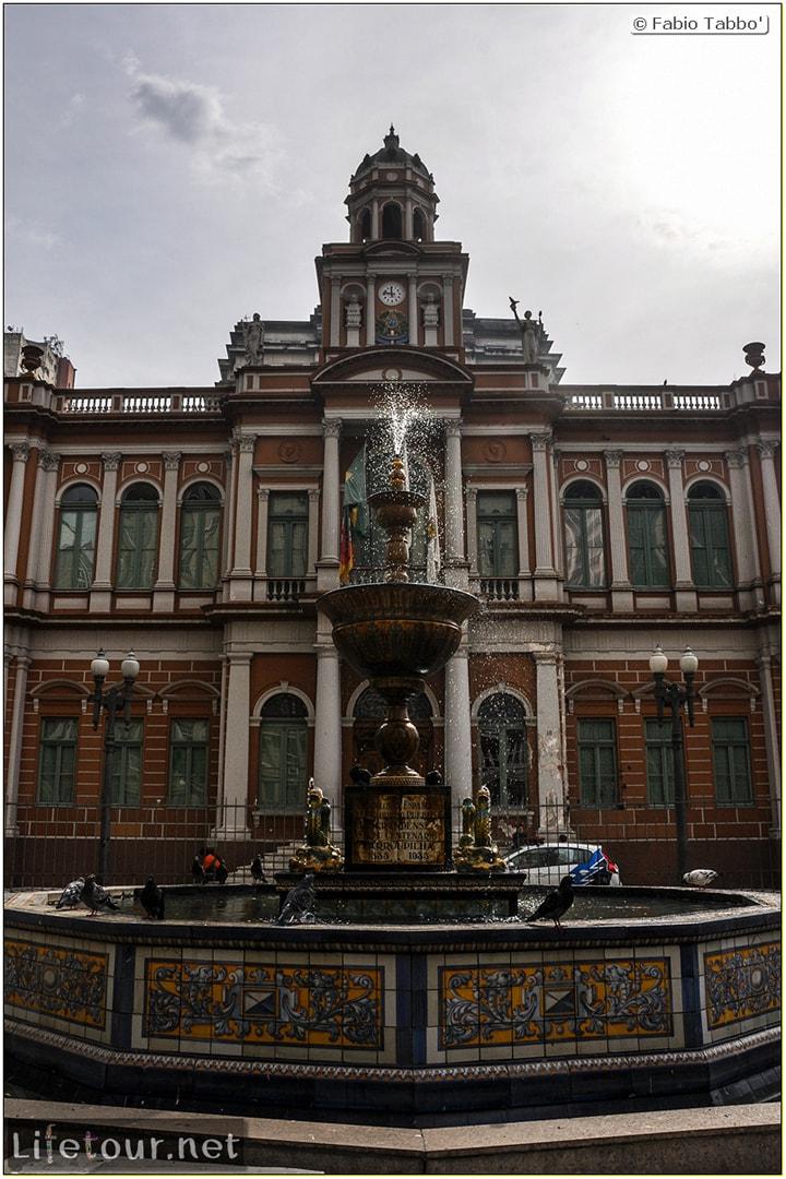 Fabio's LifeTour - Brazil (2015 April-June and October) - Porto Alegre - Other pictures historical center - 8891