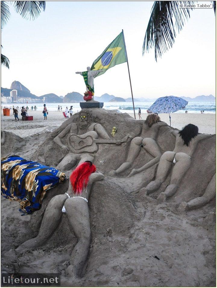 Fabio's LifeTour - Brazil (2015 April-June and October) - Rio De Janeiro - Copacabana beach - 7530 cover
