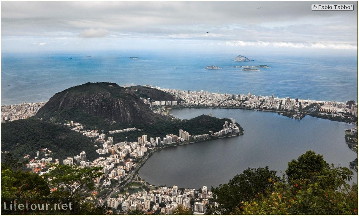 Fabio's LifeTour - Brazil (2015 April-June and October) - Rio De Janeiro - Corcovado - Level 2 - Christ statue - 5330