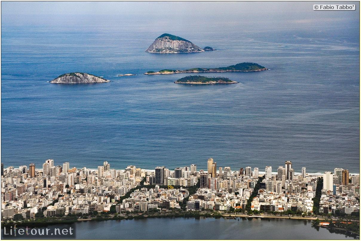 Fabio's LifeTour - Brazil (2015 April-June and October) - Rio De Janeiro - Corcovado - Level 2 - Christ statue - 5936