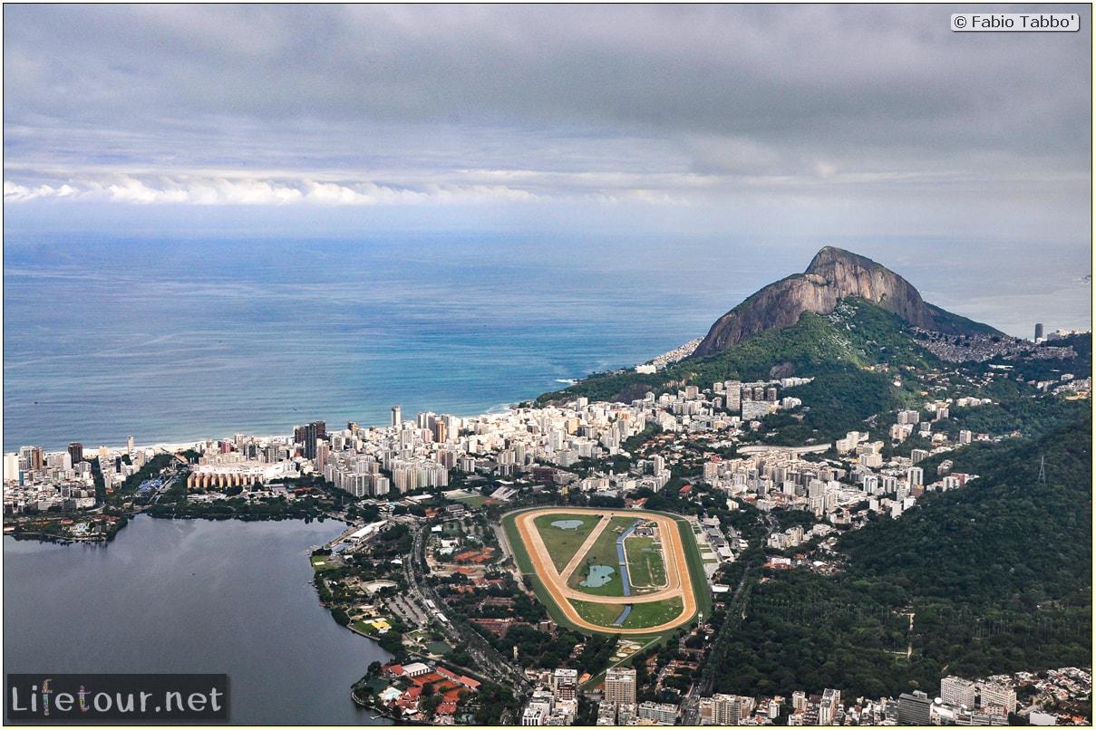 Fabio's LifeTour - Brazil (2015 April-June and October) - Rio De Janeiro - Corcovado - Level 2 - Christ statue - 6084