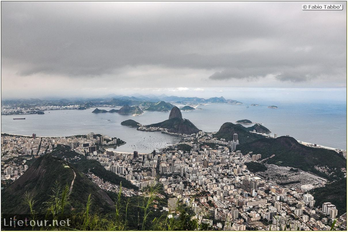 Fabio's LifeTour - Brazil (2015 April-June and October) - Rio De Janeiro - Corcovado - Level 2 - Christ statue - 7183