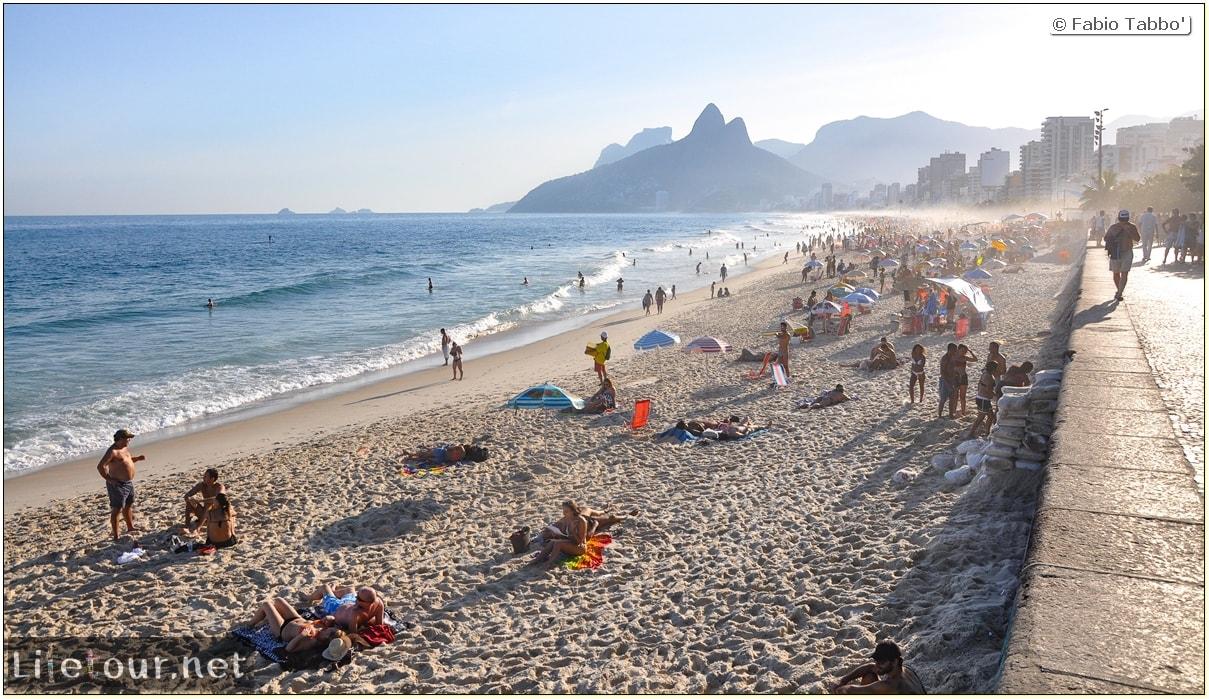 Fabio's LifeTour - Brazil (2015 April-June and October) - Rio De Janeiro - Ipanema beach - 5457