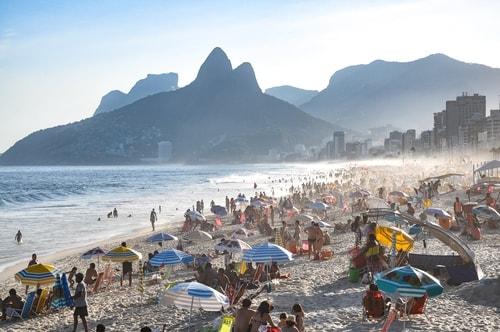 Fabio's LifeTour - Brazil (2015 April-June and October) - Rio De Janeiro - Ipanema beach - 5571 cover