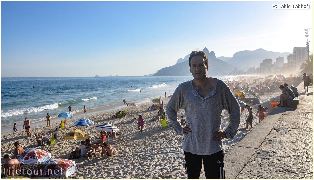 Fabio's LifeTour - Brazil (2015 April-June and October) - Rio De Janeiro - Ipanema beach - 5935