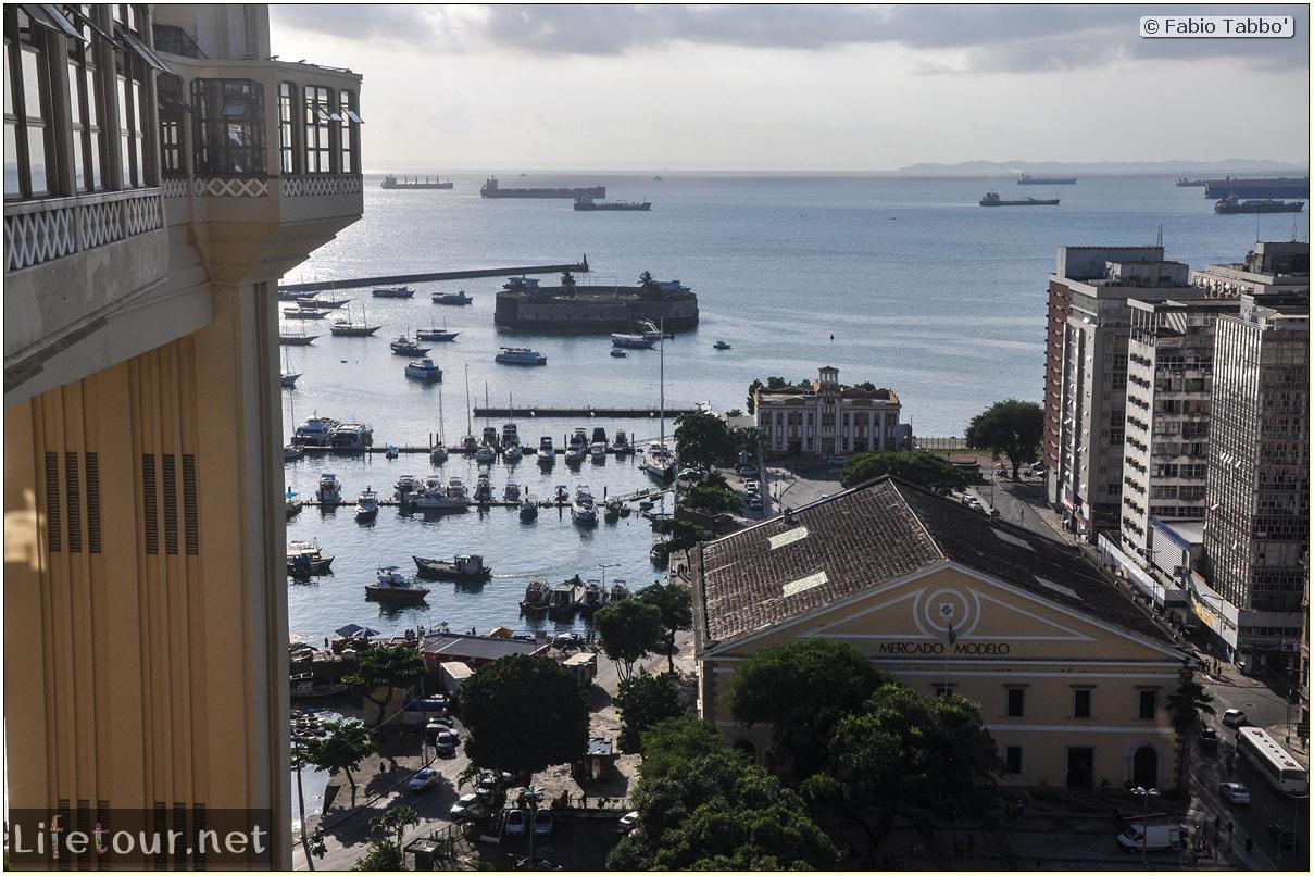 Fabio's LifeTour - Brazil (2015 April-June and October) - Salvador de Bahia - Lower city - Forte S¦o Marcelo - 3459