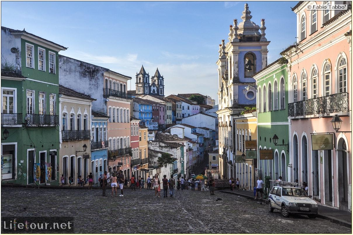 Fabio's LifeTour - Brazil (2015 April-June and October) - Salvador de Bahia - Upper city (Pelourinho) - Largo do Pelourinho - 6239 cover
