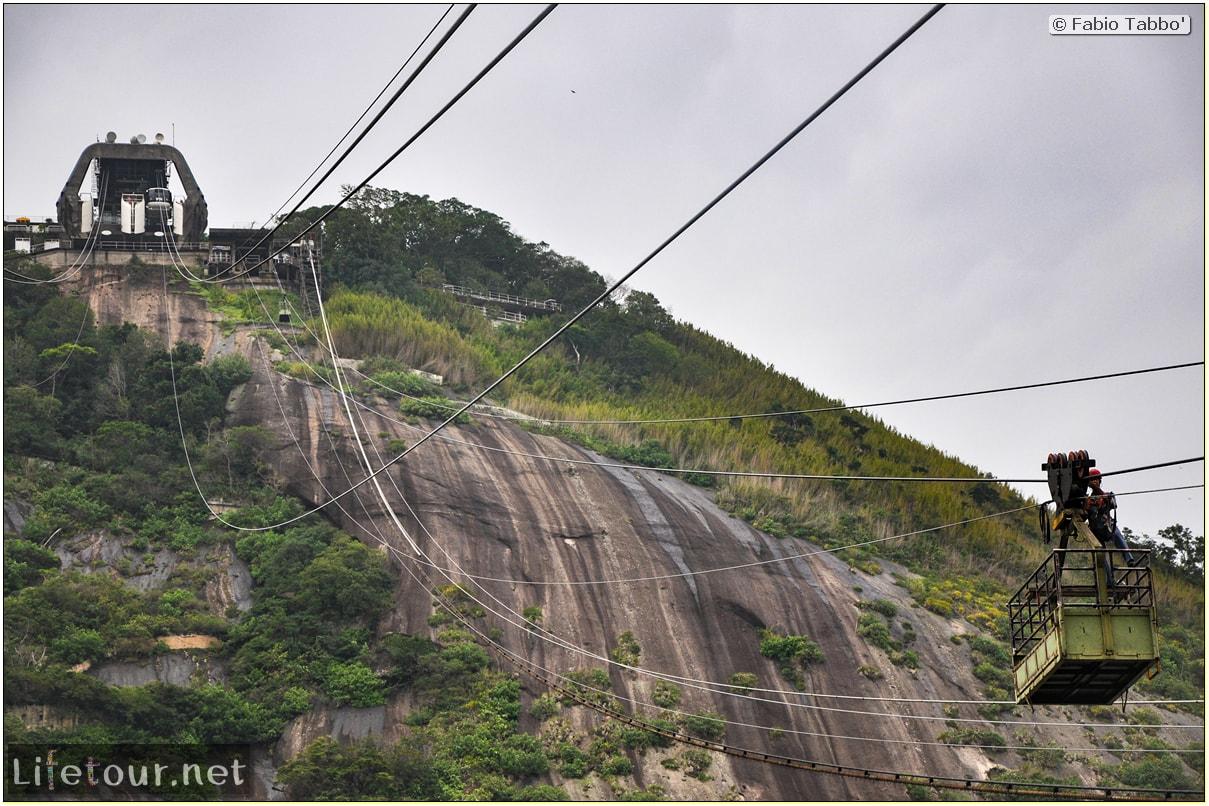 Rio De Janeiro - Trilha Do P¦o De Açúcar - 2- panoramic views on first station - 1081