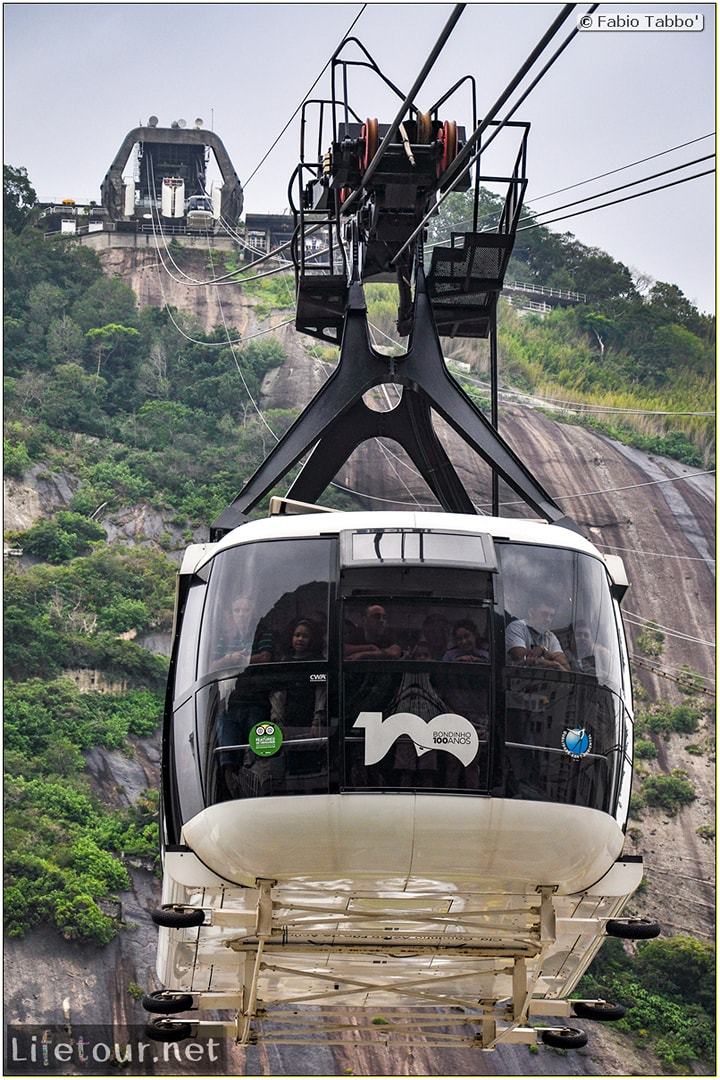 Rio De Janeiro - Trilha Do P¦o De Açúcar - 2- panoramic views on first station - 1106