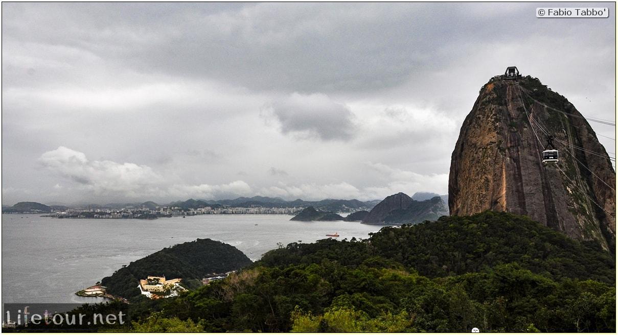 Rio De Janeiro - Trilha Do P¦o De Açúcar - 2- panoramic views on first station - 676