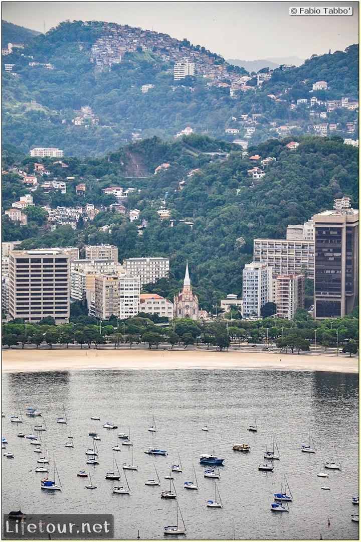 Rio De Janeiro - Trilha Do P¦o De Açúcar - 2- panoramic views on first station - 885