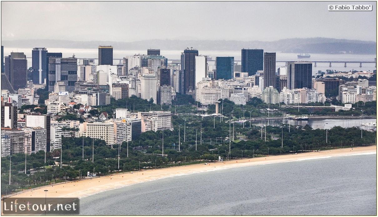Rio De Janeiro - Trilha Do P¦o De Açúcar - 2- panoramic views on first station - 897