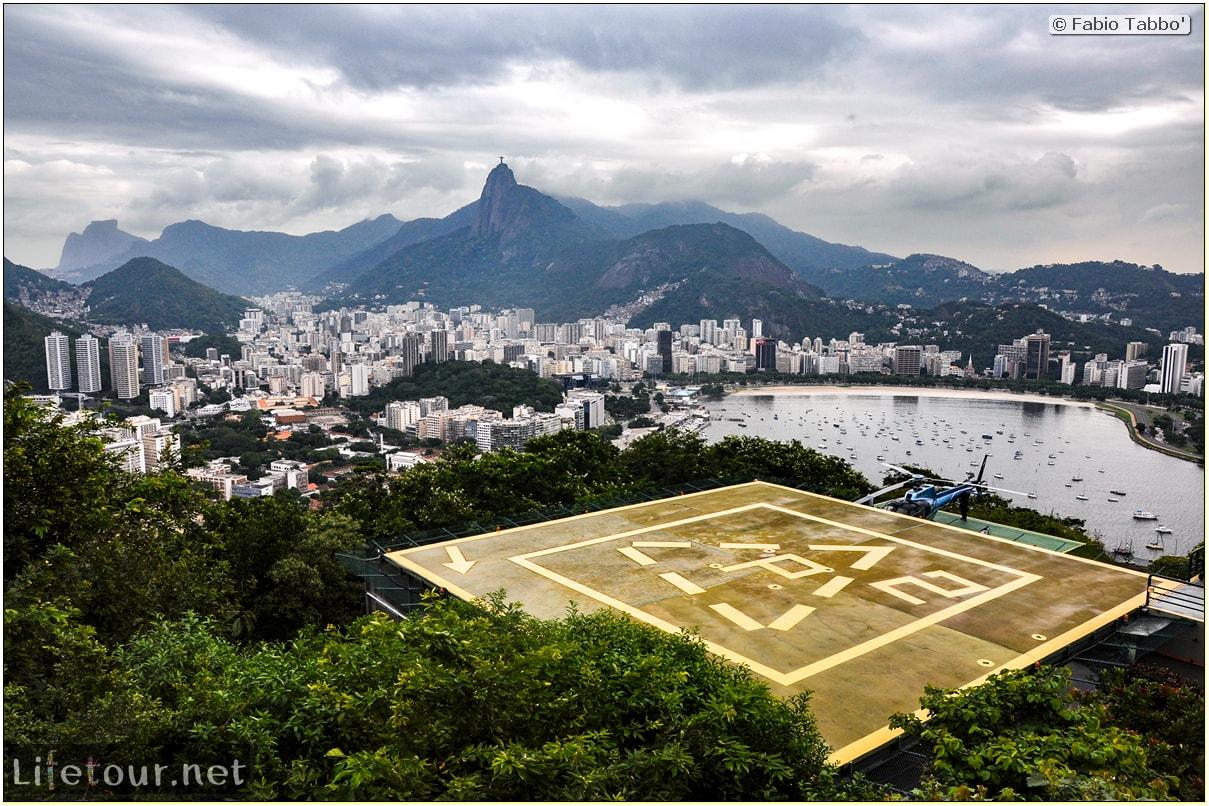Rio De Janeiro - Trilha Do P¦o De Açúcar - 2- panoramic views on first station - 997