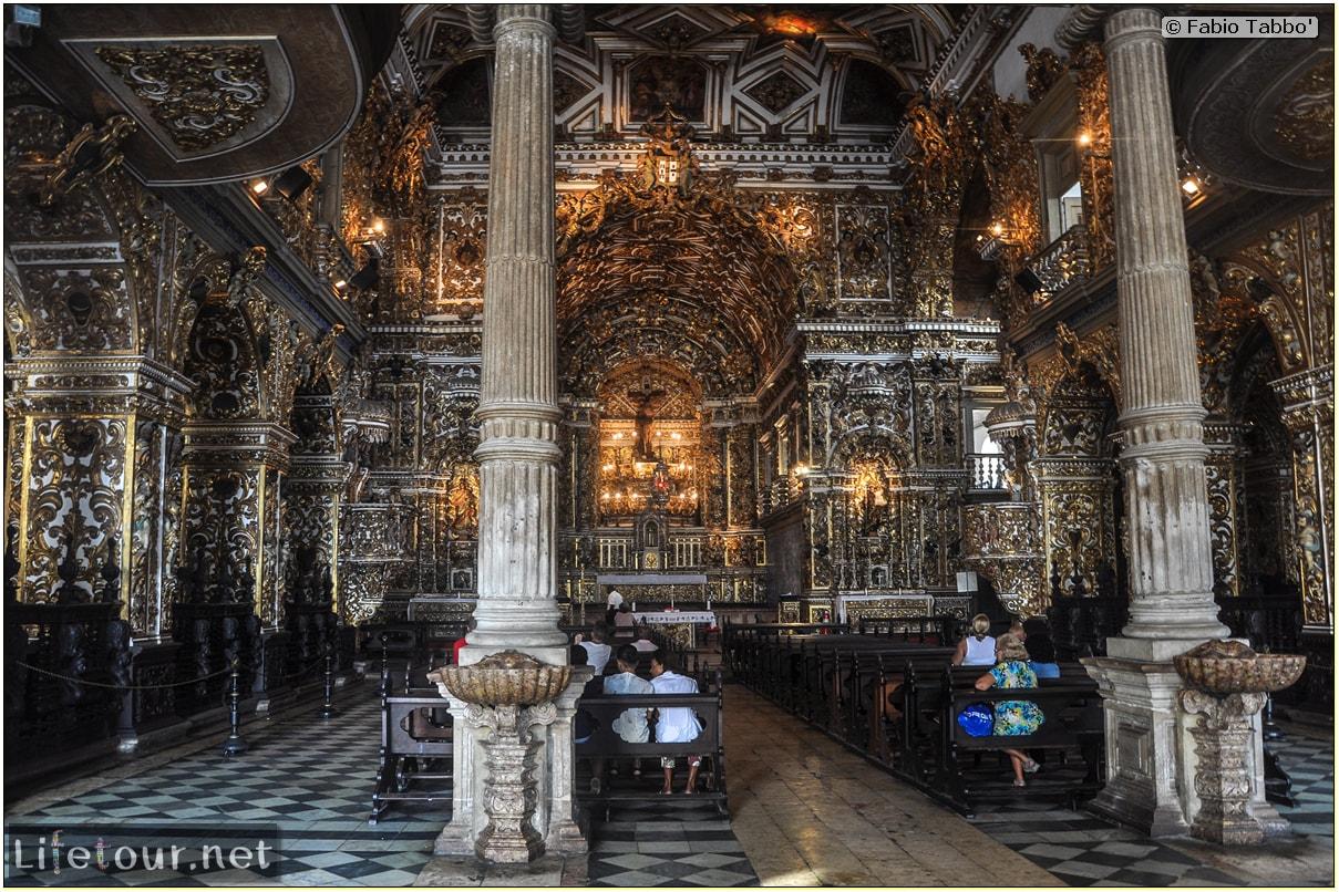 Salvador de Bahia - Upper city (Pelourinho) - Church of S¦o Francisco - 1005