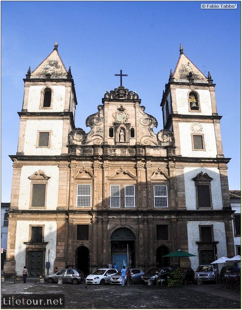 Salvador de Bahia - Upper city (Pelourinho) - Church of S¦o Francisco - 970