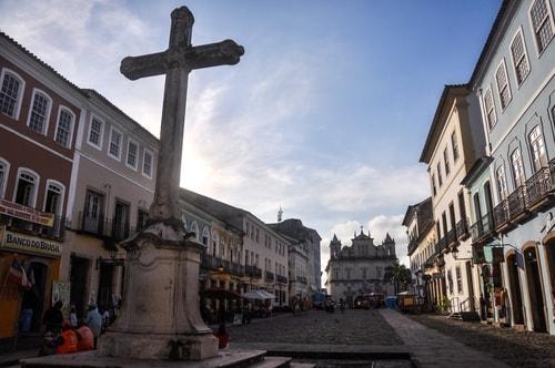 Salvador de Bahia - Upper city (Pelourinho) - Church of S¦o Francisco - 991 cover