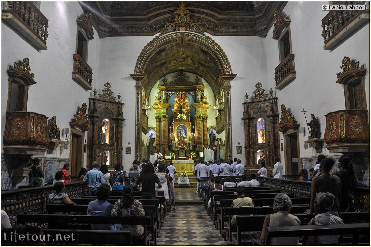 Salvador de Bahia - Upper city (Pelourinho) - Igreja de Nossa Senhora do Rosário dos Pretos - 782