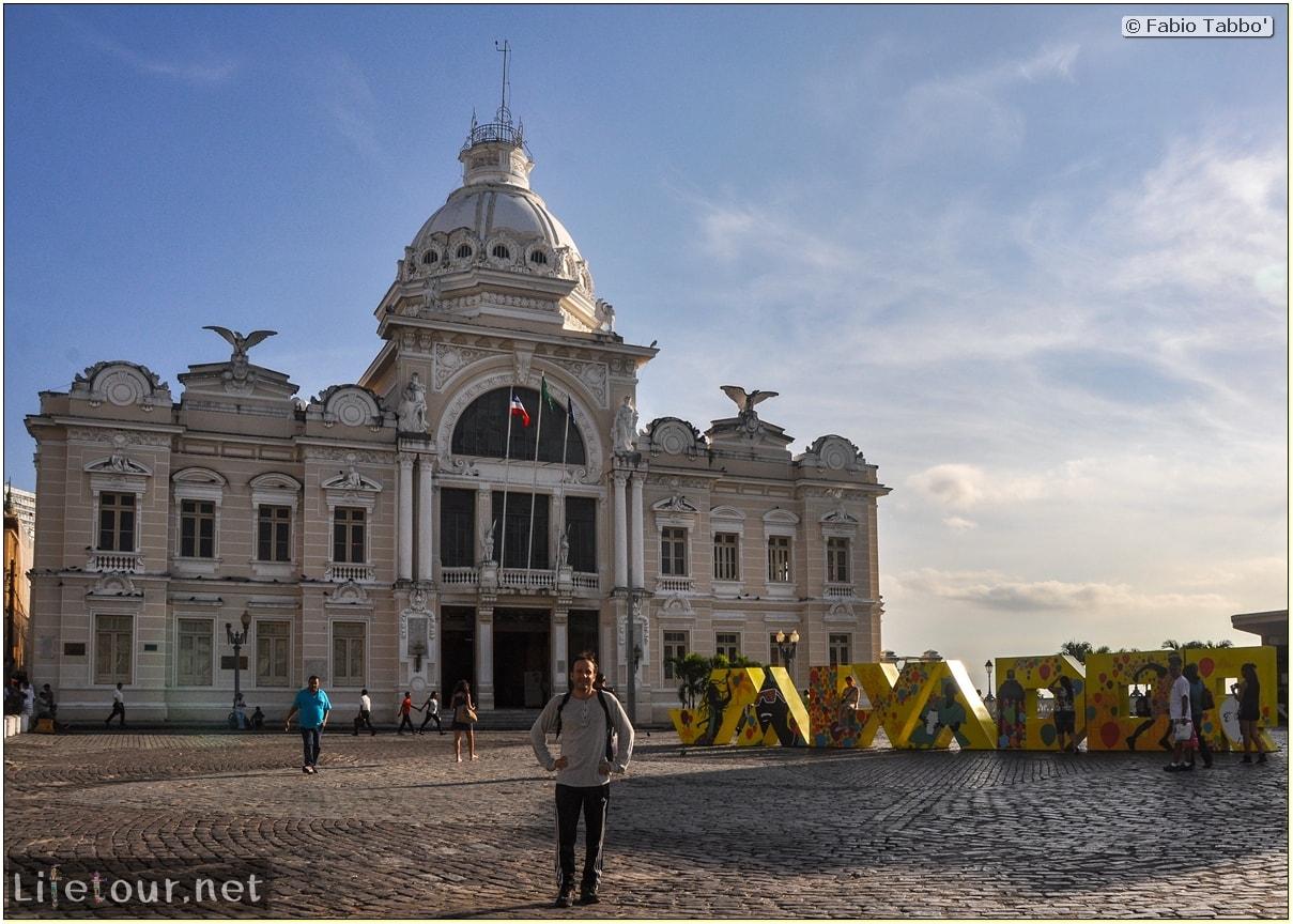 Salvador de Bahia - Upper city (Pelourinho) - other pictures of Historical center - 1060
