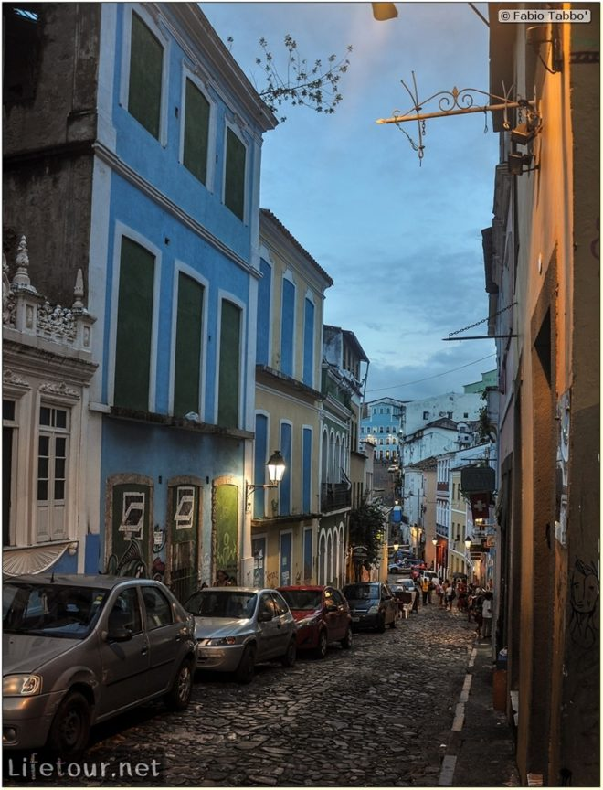 Salvador de Bahia - Upper city (Pelourinho) - other pictures of Historical center - 754