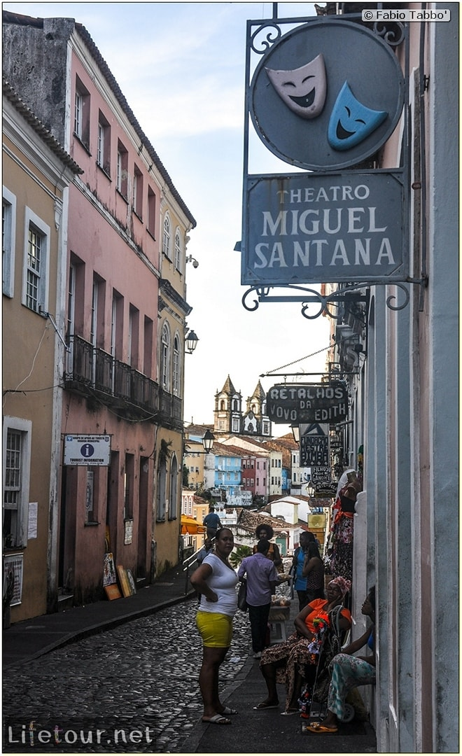 Salvador de Bahia - Upper city (Pelourinho) - other pictures of Historical center - 849