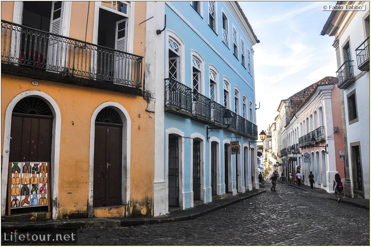 Salvador de Bahia - Upper city (Pelourinho) - other pictures of Historical center - 862 cover