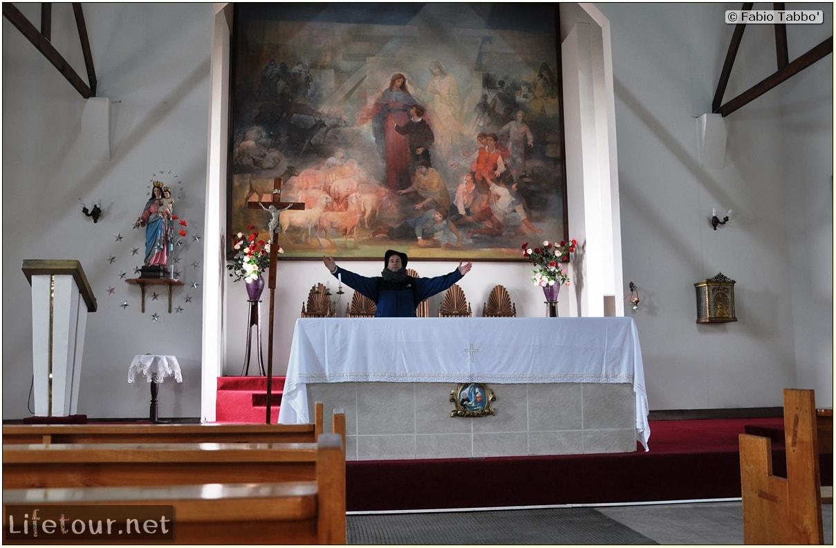 Fabio's LifeTour - Chile (2015 September) - Porvenir - Tierra del Fuego - Porvenir city - Church San Francisco de Sales - 6158