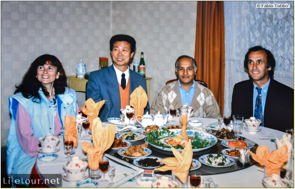 Fabio's LifeTour - China (1993-1997 and 2014) - Beijing (1993-1997 and 2014) - Tourism - Beijing Food (1993) - 12762