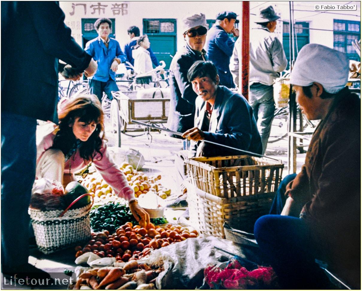 Fabio's LifeTour - China (1993-1997 and 2014) - Beijing (1993-1997 and 2014) - Tourism - Beijing Food (1993) - 13088