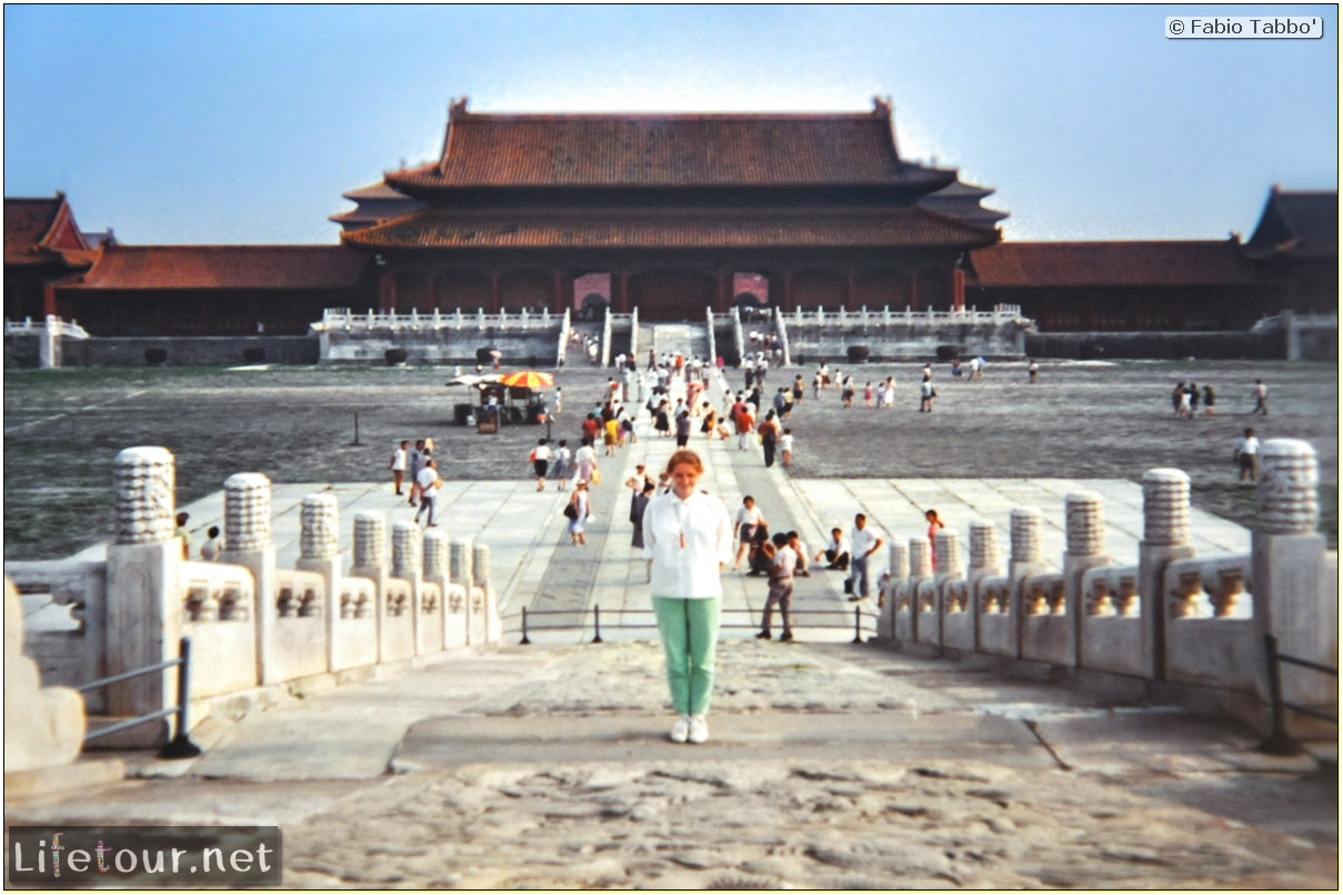 Fabio's LifeTour - China (1993-1997 and 2014) - Beijing (1993-1997 and 2014) - Tourism - Forbidden City (1993) - 12954