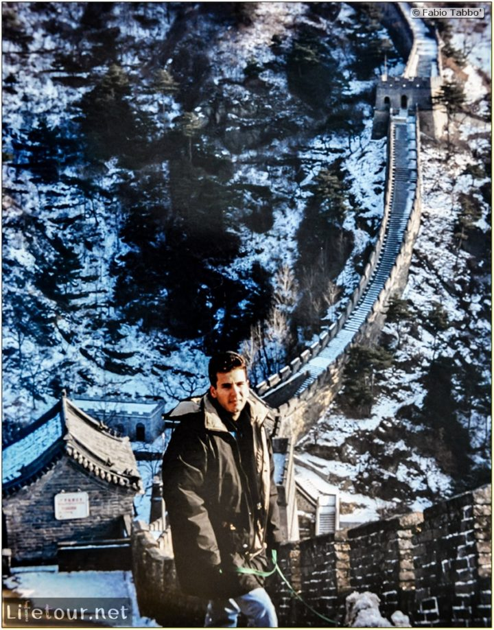 Fabio's LifeTour - China (1993-1997 and 2014) - Beijing (1993-1997 and 2014) - Tourism - Great Wall (1993) - 13057