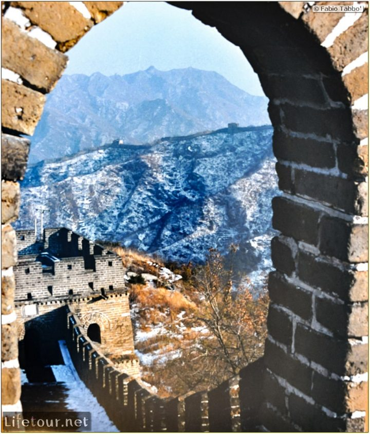 Fabio's LifeTour - China (1993-1997 and 2014) - Beijing (1993-1997 and 2014) - Tourism - Great Wall (1993) - 13114