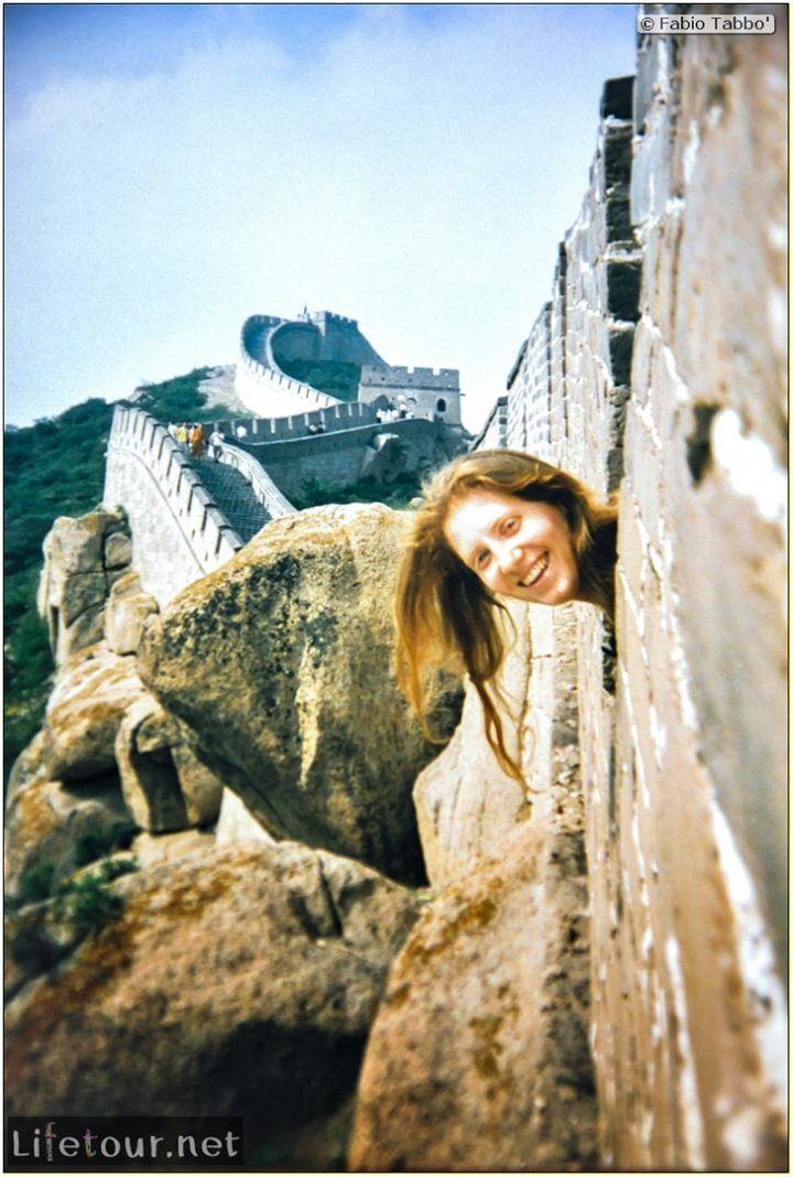Fabio's LifeTour - China (1993-1997 and 2014) - Beijing (1993-1997 and 2014) - Tourism - Great Wall (1993) - 13466
