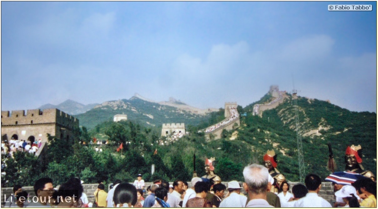 Fabio's LifeTour - China (1993-1997 and 2014) - Beijing (1993-1997 and 2014) - Tourism - Great Wall (1993) - 19858