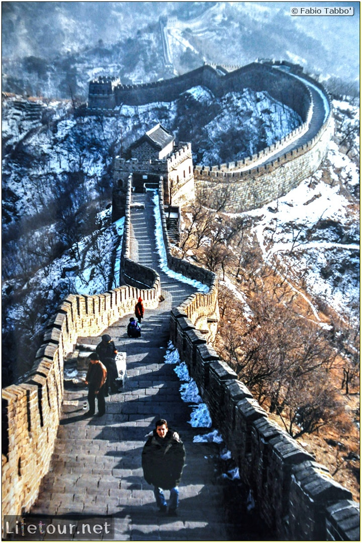 Fabio's LifeTour - China (1993-1997 and 2014) - Beijing (1993-1997 and 2014) - Tourism - Great Wall (1993) - 3897