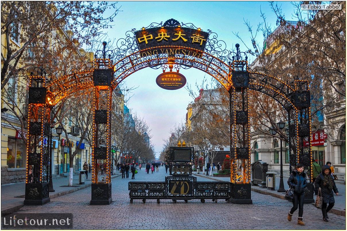 Fabio's LifeTour - China (1993-1997 and 2014) - Harbin (2014) - Zhongyang Dajie Rd - 2345