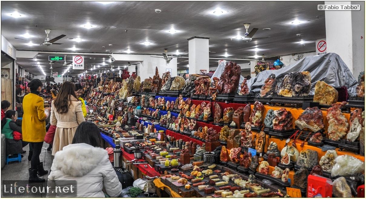 Fabio's LifeTour - China (1993-1997 and 2014) - Shanghai (1993 and 2014) - Tourism - Antique markets - 9714