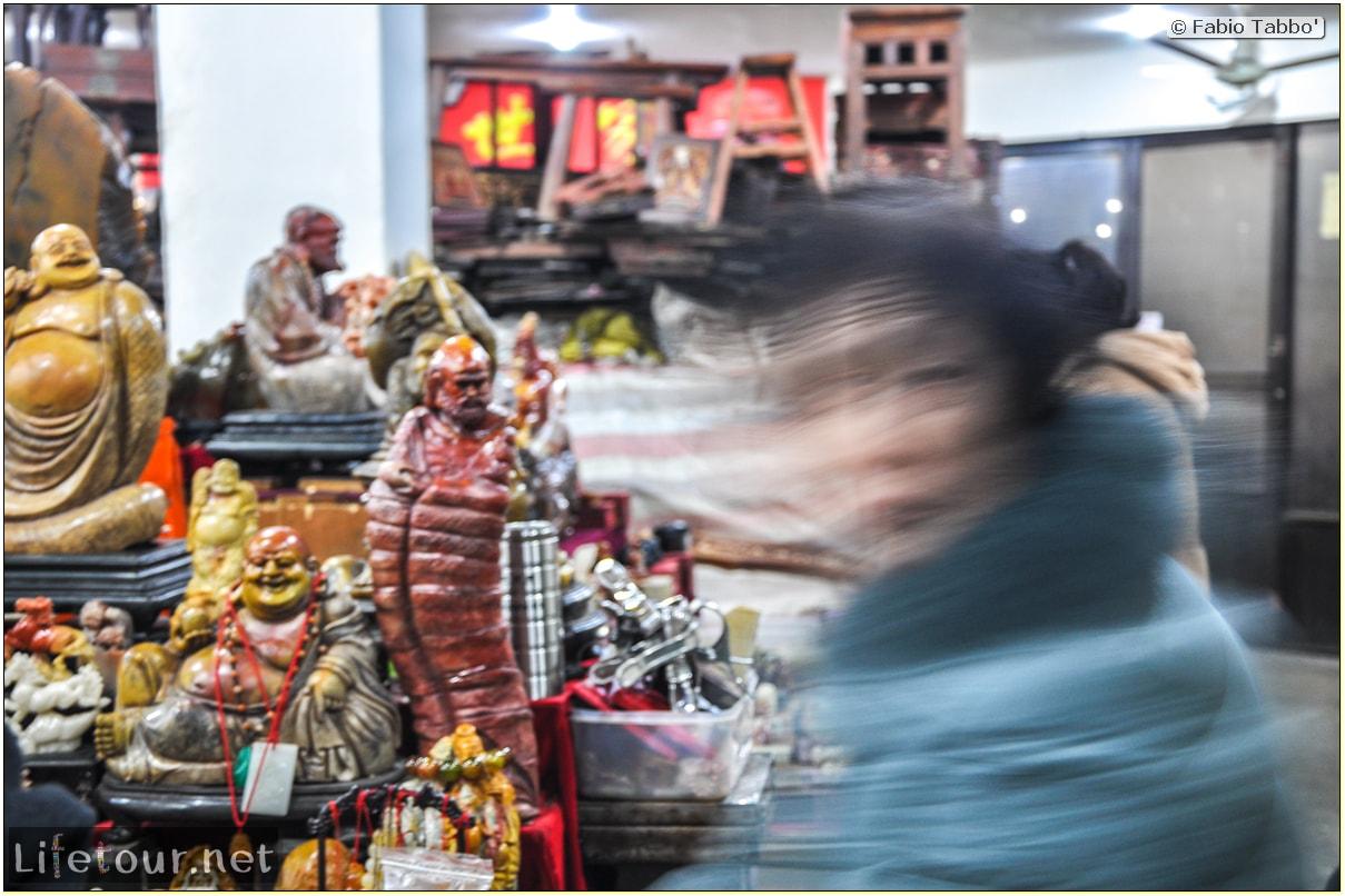 Fabio's LifeTour - China (1993-1997 and 2014) - Shanghai (1993 and 2014) - Tourism - Antique markets - 9737