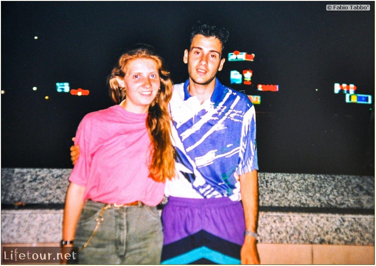 Fabio's LifeTour - China (1993-1997 and 2014) - Shanghai (1993 and 2014) - Tourism - Bund - Bund 1993 - 13250