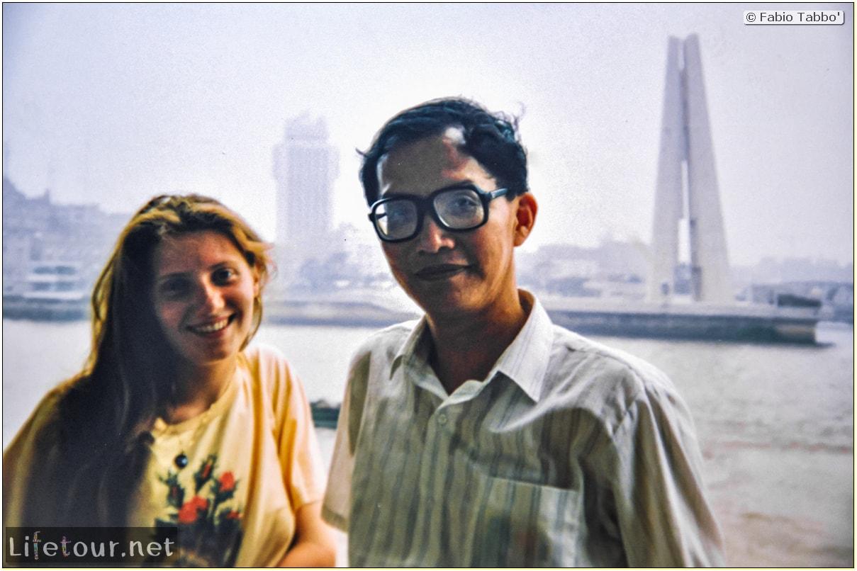 Fabio's LifeTour - China (1993-1997 and 2014) - Shanghai (1993 and 2014) - Tourism - Bund - Bund 1993 - 13298