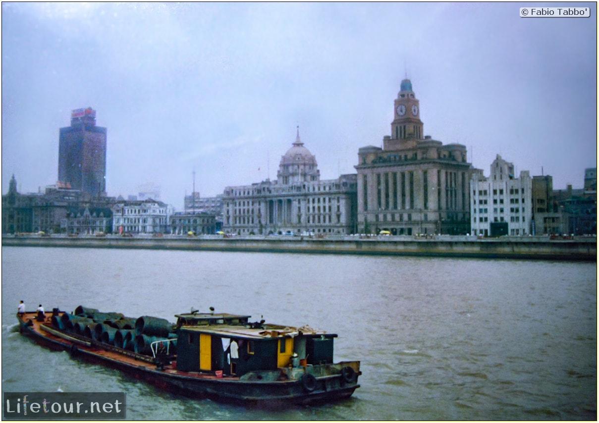 Fabio's LifeTour - China (1993-1997 and 2014) - Shanghai (1993 and 2014) - Tourism - Bund - Bund 1993 - 19868 COVER