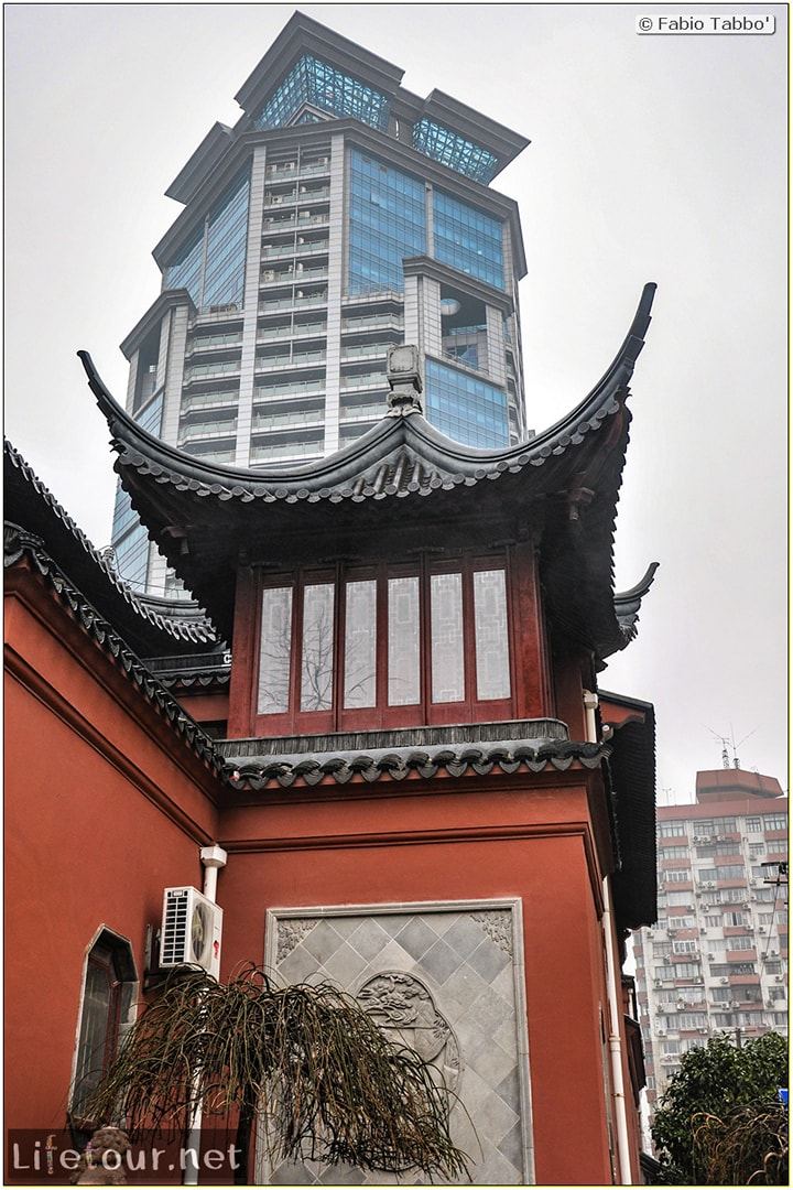 Fabio's LifeTour - China (1993-1997 and 2014) - Shanghai (1993 and 2014) - Tourism - Dajingguandi temple - 8763