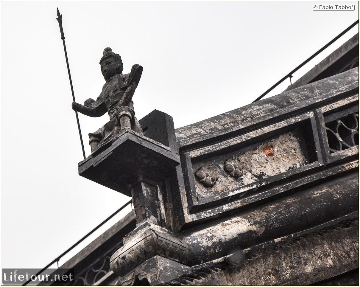 Fabio's LifeTour - China (1993-1997 and 2014) - Shanghai (1993 and 2014) - Tourism - Dajingguandi temple - 8944