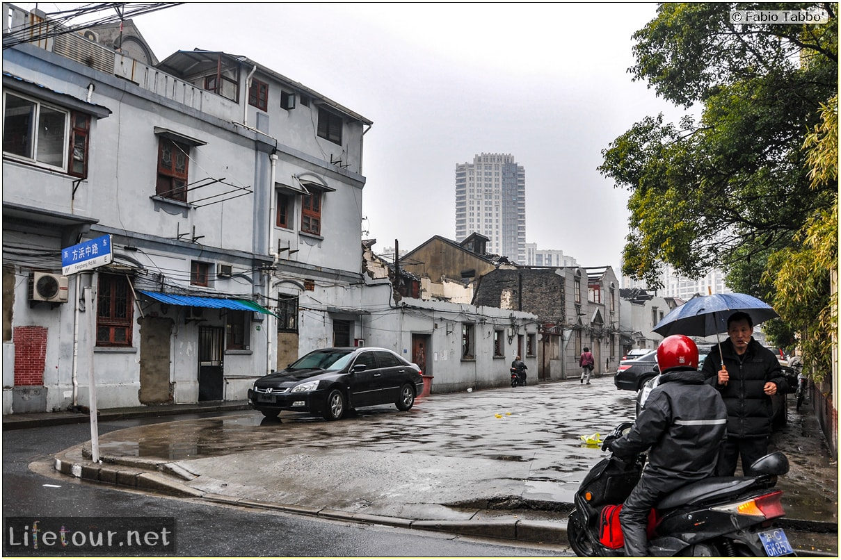 Fabio's LifeTour - China (1993-1997 and 2014) - Shanghai (1993 and 2014) - Tourism - FangBang rd old quarter - 8413