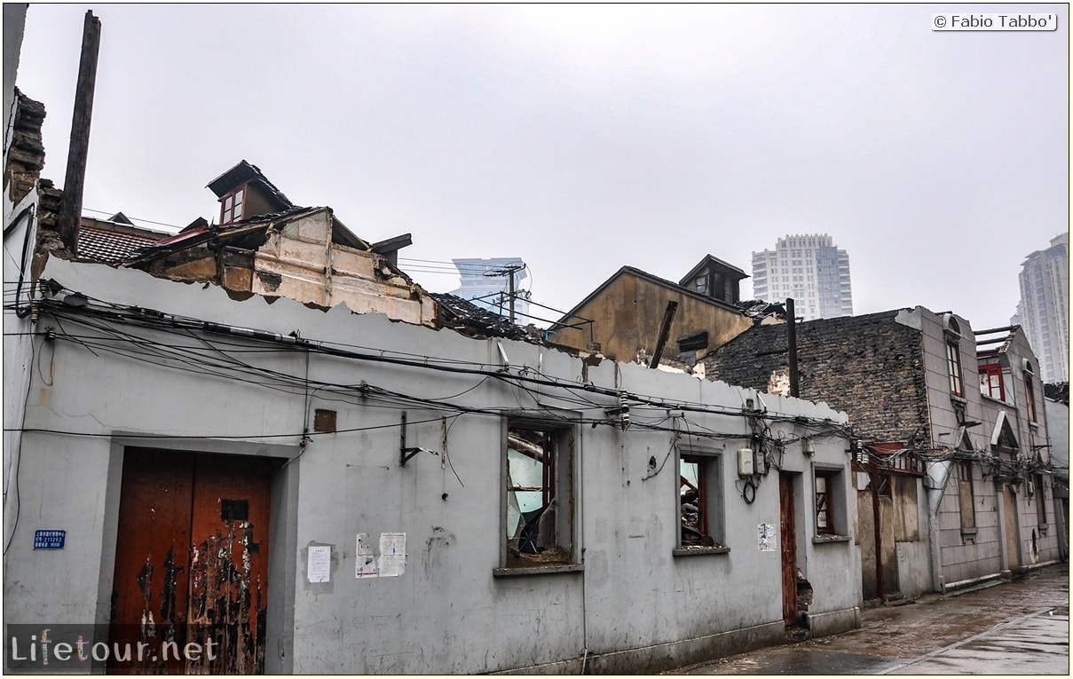 Fabio's LifeTour - China (1993-1997 and 2014) - Shanghai (1993 and 2014) - Tourism - FangBang rd old quarter - 8526