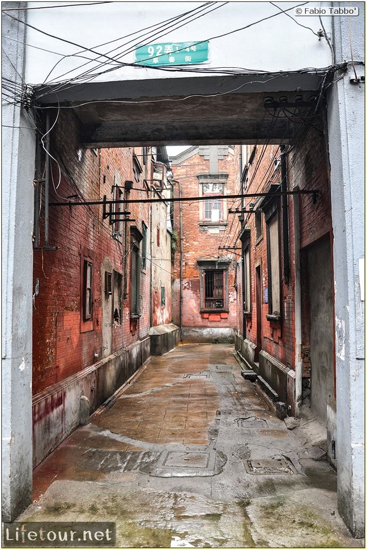 Fabio's LifeTour - China (1993-1997 and 2014) - Shanghai (1993 and 2014) - Tourism - FangBang rd old quarter - 9577