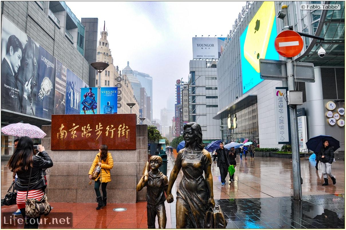 Fabio's LifeTour - China (1993-1997 and 2014) - Shanghai (1993 and 2014) - Tourism - Nanjing road - 2014 - 7821