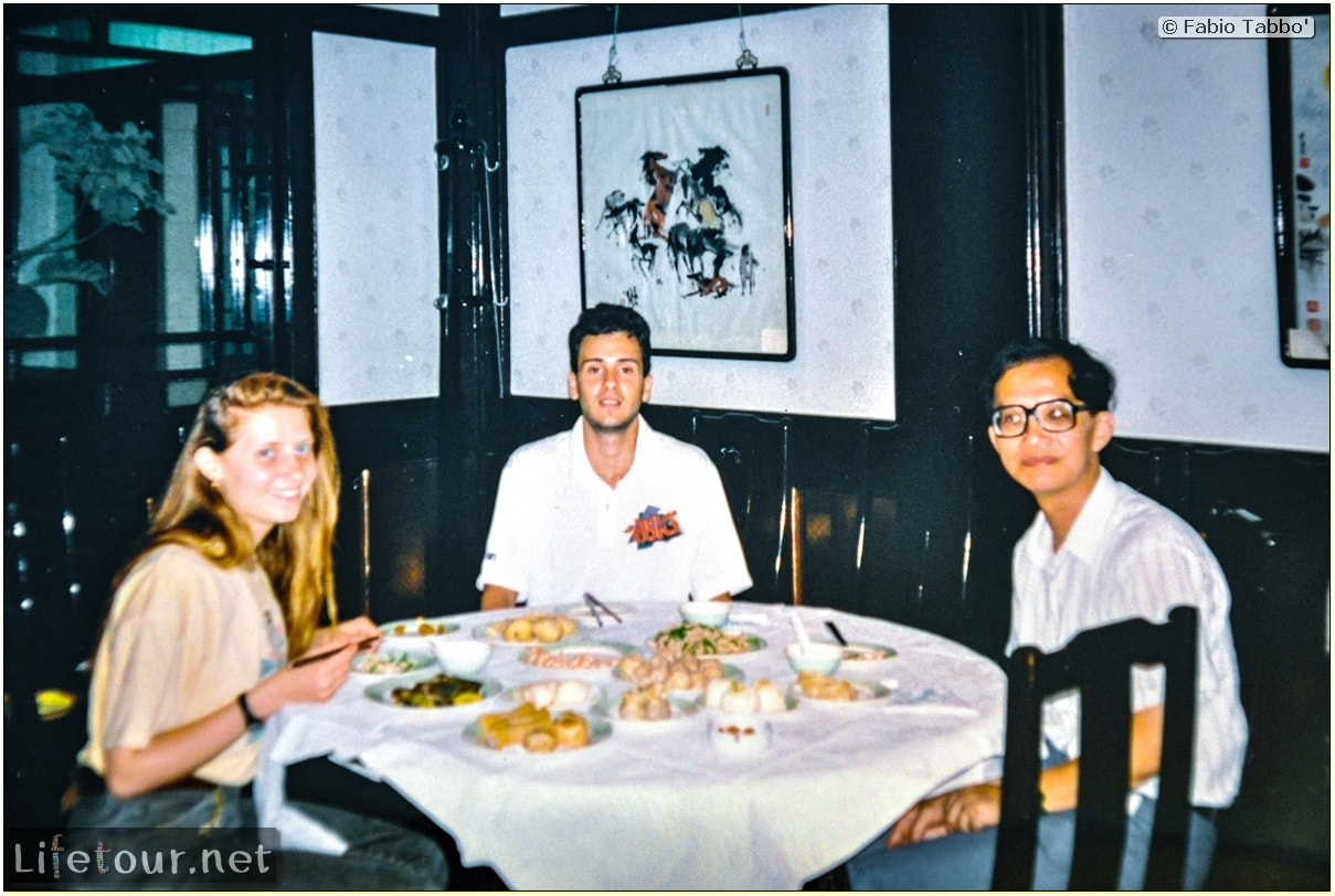 Fabio's LifeTour - China (1993-1997 and 2014) - Shanghai (1993 and 2014) - Tourism - Other pictures Shanghai - 1993 - 13237