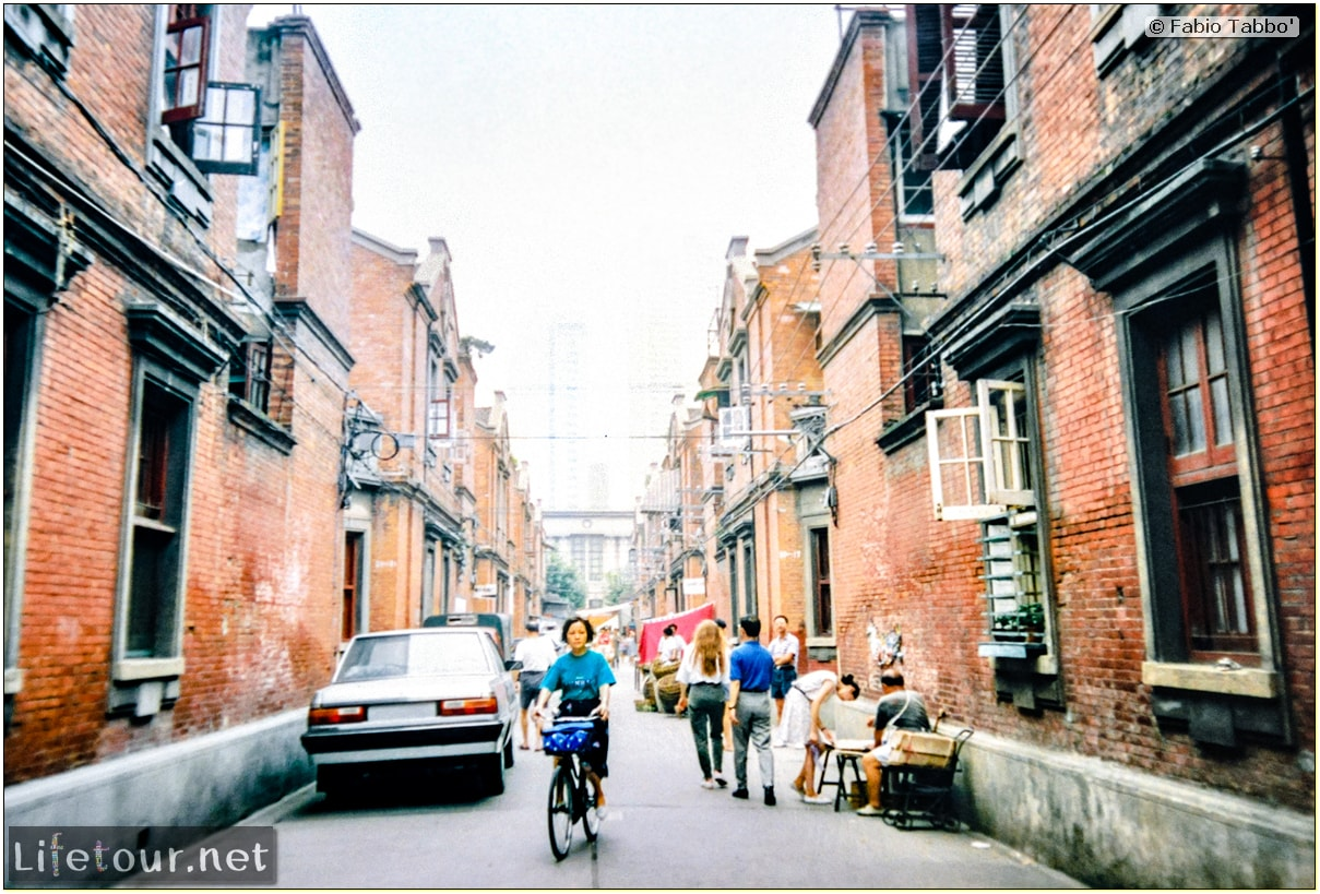 Fabio's LifeTour - China (1993-1997 and 2014) - Shanghai (1993 and 2014) - Tourism - Other pictures Shanghai - 1993 - 13246